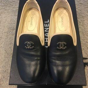 Chanel lambskin mocassins/loafers
